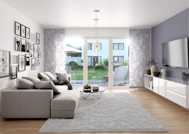 Eschborn 4plus4 Wohnzimmer