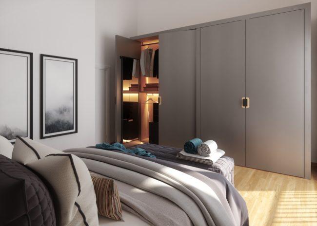 Eschborn 4plus4 Schlafzimmer