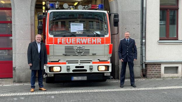 Spendenübergabe Feuerwehr Leipzig-Ost