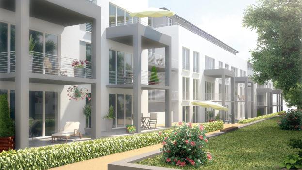 Hähnlein und Krönert | Living Inside - Innenhof